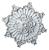 Hickory Manor House Acanthus Rope Ceiling Medallion