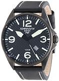 Torgoen Swiss Men's T10105 T10 Stainless-Steel Case Carbon Aviation Watch