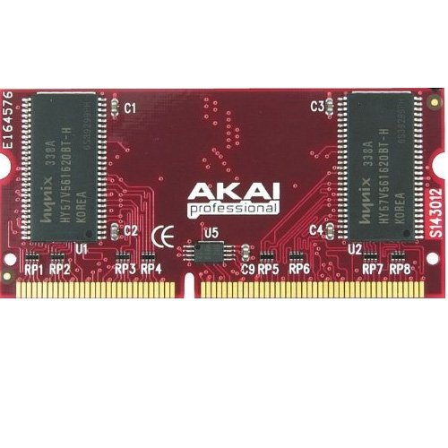 Akai Professional EXM128 | 128MB Memory Upgrade For MPC500, MPC1000, MPC2500 Drum Machines by Akai Professional
