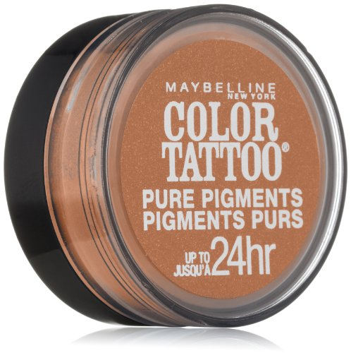 Maybelline New York Eye Studio Color Tattoo Pure Pigments, Buff and Tuff, 0.05 Ounce