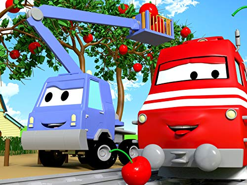 (Chuck the Cherry Picker/Amber The Ambulance helps Ethan the Dump Truck )