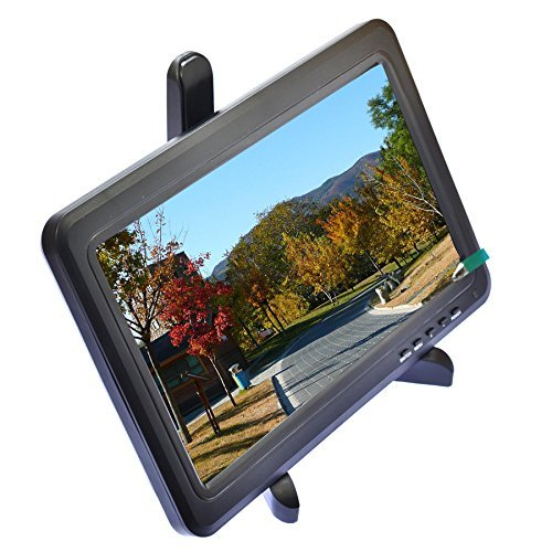 10.1 inch High Resolution IPS LED Panel Screen Display Monitor with VGA HDMI 1366x768 PS3 PS4 PS3 Wii U xbox360 Game AUDIO by Aihome