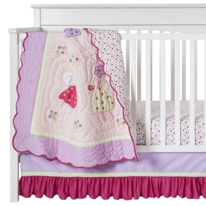 Fairy Land 3 pc Crib Set (Fairy Crib)