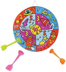 Vilac 2952 - Diana y dardos magnéticos de juguete (madera), varios colores
