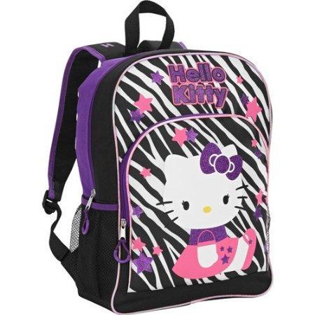 Hello Kitty Zebra 16' Backpack