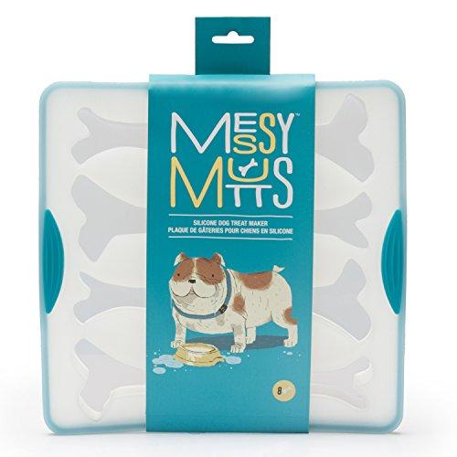 Messy Mutts Bake & Freeze Silicone Dog Treat Maker]()