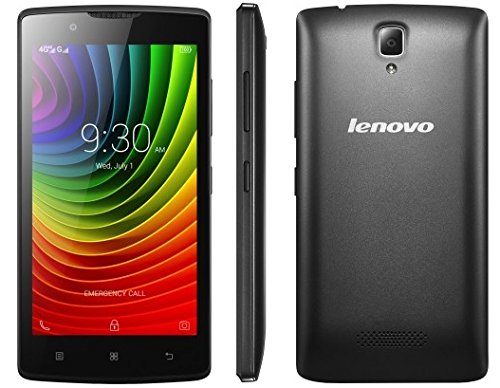 Lenovo A2010 4G LTE Android Quad Core 8GB Dual Sim 5Mp Factory Unlocked International Version (Black)