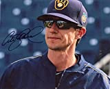 Craig Counsell Signed Photograph - Manager 8x10 W coa - Autographed MLB Photos