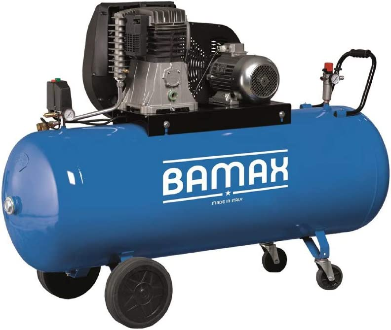Bamax Druckluft Kompressor 60 90ct Luftkompressor Ansaugleistung 798l Min 11 Bar 90 Liter Kessel 400v Baumarkt