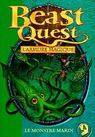 Beast Quest, tome 9 : Le monstre marin par Adam Blade