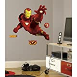 RoomMates RMK1486GM Iron Man Peel & Stick Giant Wall Decal
