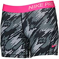 f2c07697aa Nike Girl's Dri-Fit Training Pro Cool Compression Short 903746-012 Grey Camo