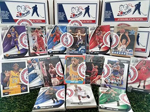 16 pack Sealed box of Basketball cards with 15 different Modern & Vintage cards from all brands in Each Pack. Guaranteed one AUTOGRAPH OR MEMORABILIA card per box. Great for 1st time Collectors.