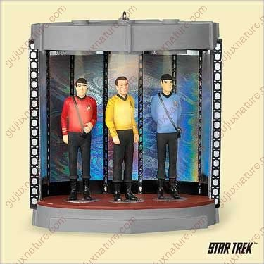 STAR TREK - TRANSPORTER CHAMBER 2006 Hallmark Ornament ()