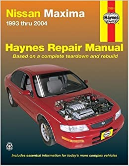 manual maxima 2005