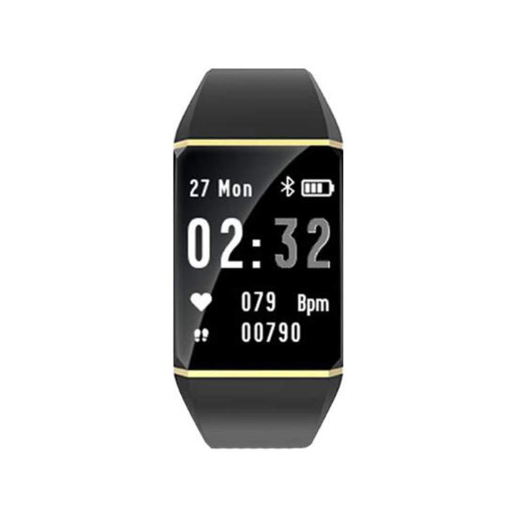 Or XNNDD Montre Smart Watch Fitness Montre de Sport Contrôle de la Musique Prévisions météo Surveillance du Sommeil par fréquence Cardiaque Surveillance Smart Watch