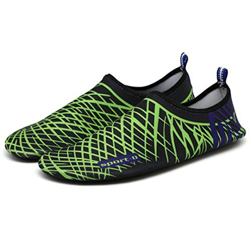 BEACHR Men 'S Women' S Beach Shoes Outdoor Sports Swimming Flippers Water Shoes Beach Boots Black 5.5 by BEACHR