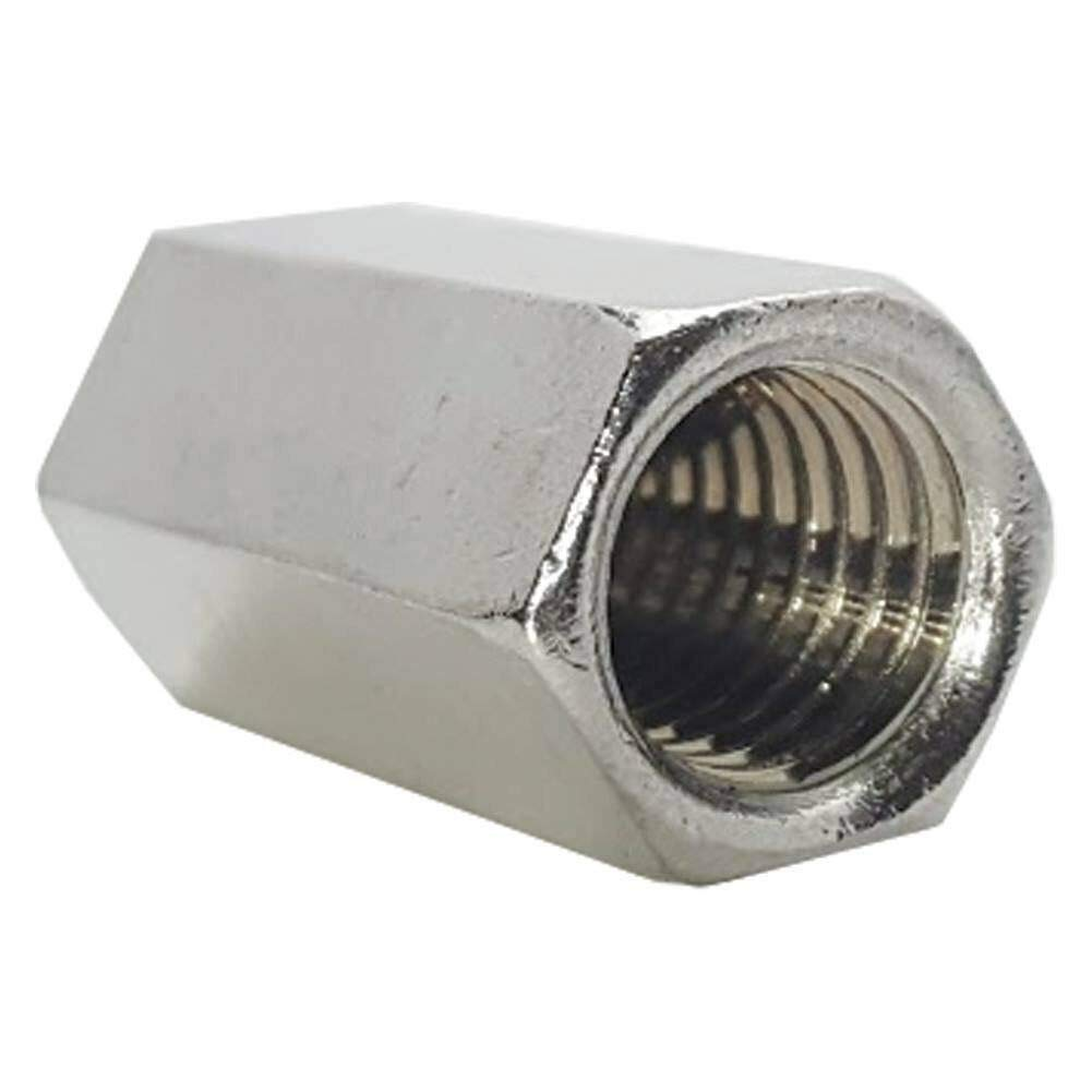 1/4-20 Rod Coupling Nut, Stainless Steel 18-8 Extension Qty 10