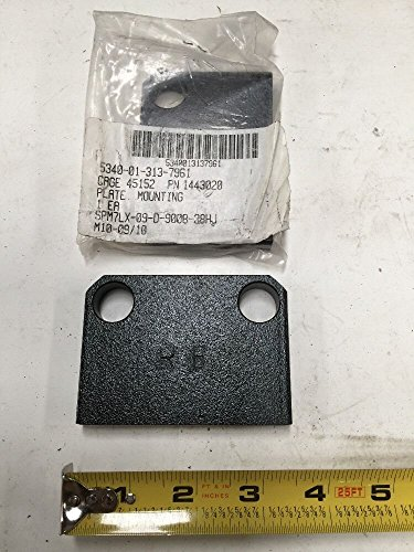 Mounting Plate Lvs Power Unit MK48 and Trailer Family Deuce DV100 1443020 from Oshkosh Corporation