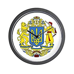 CafePress - Ukraine Coat of Arms - Unique Decorative 10 Wall Clock