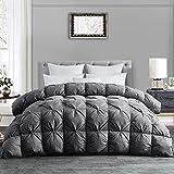 Best Goose Down Comforter Kings - HOMBYS Luxurious All-Season Down Comforter King Size Duvet Review