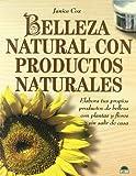 Belleza Natural con Productos Naturales, J. Cox, 8495456036
