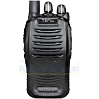 TERA TR-505 Dual-Band 16 Channel UHF GMRS (8x More Power than FRS) VHF MURS Two-Way Handheld Radio for Personal, Recreational, and Emergency Communications