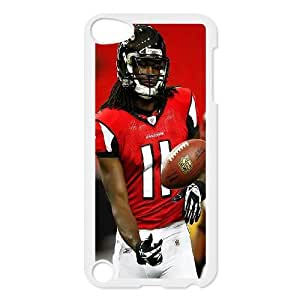High Quality Phone Back Case Pattern Design 18Julio Jones,Atlanta Falcons Seires- FOR Ipod Touch 5