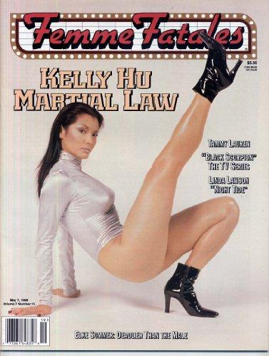 Femme Fatales Magazine KELLY HU IN LINGERIE Elke Sommers Topless PANDORA PEAKS Sexy Pin-Ups STACY WALKER May 1999 C (Femme Fatales Magazine)