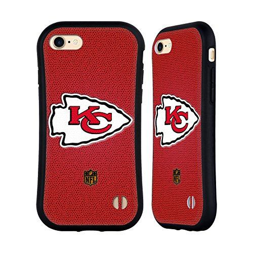 Official NFL Football Kansas City Chiefs Logo Hybrid Case for iPhone 7 / iPhone 8