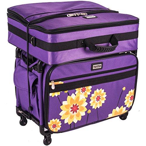 Tutto Purple Dahlia Large Machine case ()