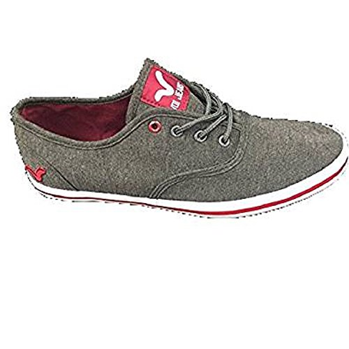 VOI , Chaussures de ville à lacets pour homme Noir charbon 43
