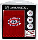 NHL Montreal Canadiens Embroidered Golf Towel, 3 Golf Ball, and Golf Tee Set