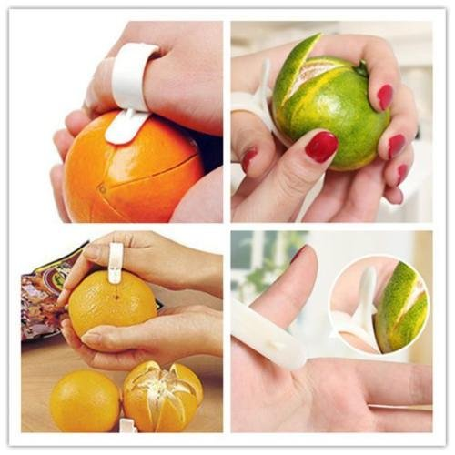 NPLE--5/set Lots Fruit Orange Lemon Loon Opener Peeler Pare Cutter Kitchen supply New