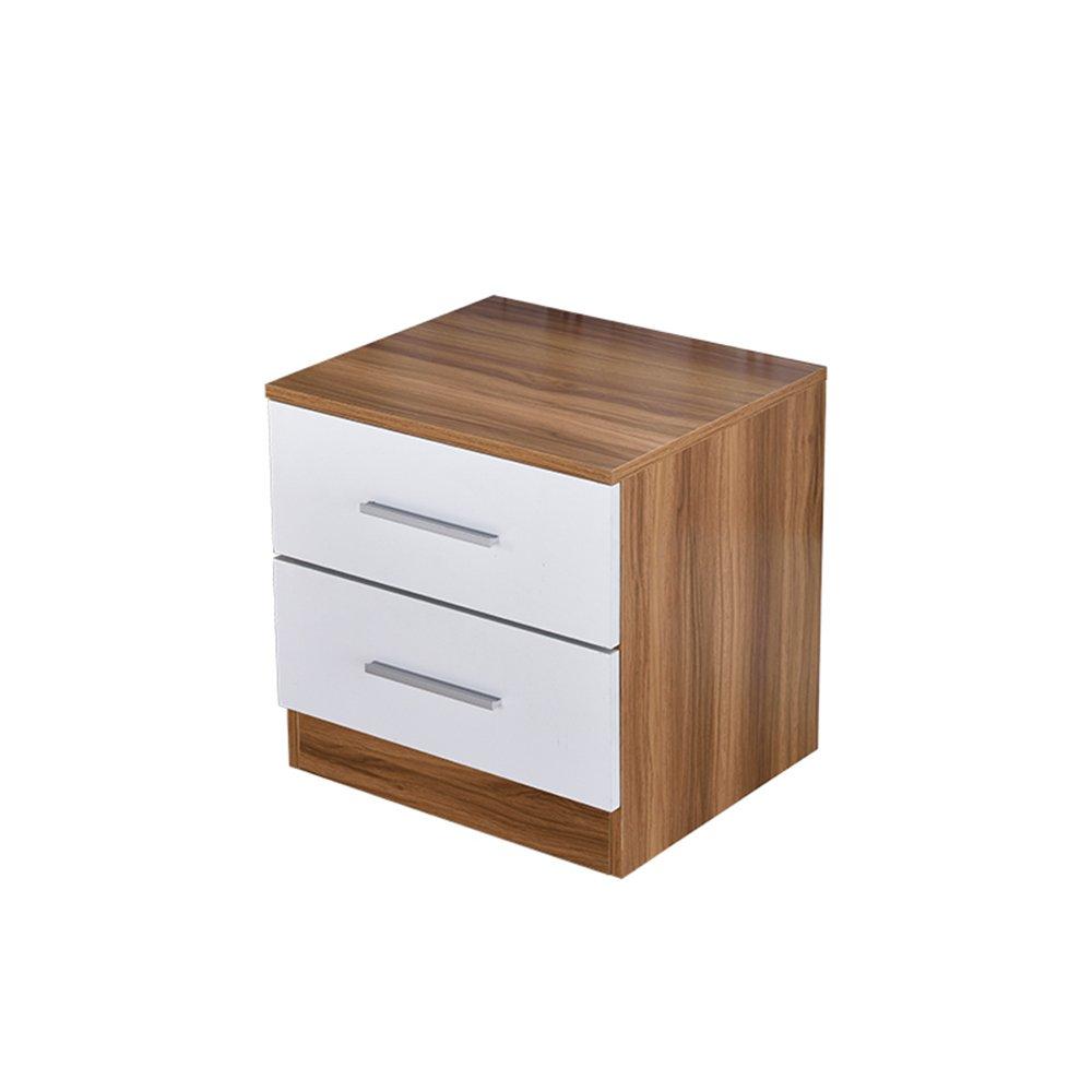 SYF ベッドサイドテーブル|ベッドサイドキャビネットベッドサイドキャビネット収納キャビネットオフィス大容量収納キャビネットレストラン45×40×45 CM A+ (色 : A)  A B07NRDCMPL