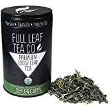 Organic Ceylon Green (Sri Lanka) Tea 2oz Tin (approx. 30 servings) For Sale