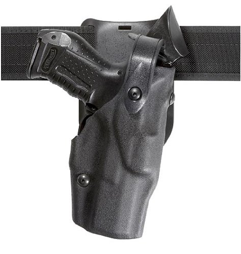 Safariland 6365 Level 3 Retention ALS Duty Low Ride Holster, Black, Right Hand, Beretta 92F