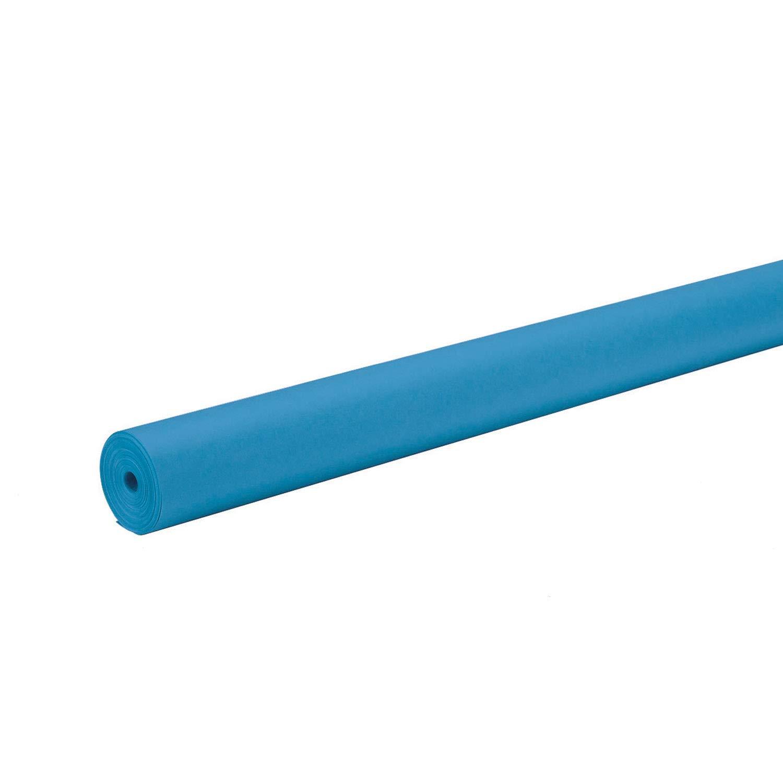 1 Roll Brite Blue 48 x 200 Pacon ArtKraft Duo-Finish Paper 0067174