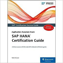 Amazon com: SAP HANA Certification Guide (SAP PRESS