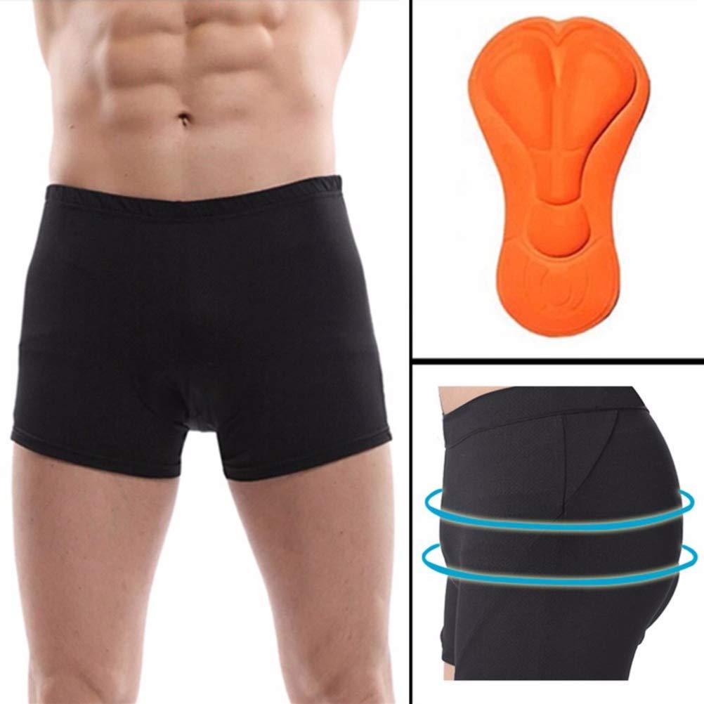 Uyuke Hommes V/élo sous-v/êtements /Éponge Rembourr/é V/élo Sport en Plein Air Boxer Rembourr/é Sport V/élo Pantalon Court