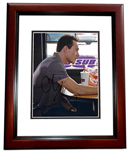 Chris Klein Signed - Autographed 8x10 inch Photo MAHOGANY CUSTOM FRAME - American Pie Actor
