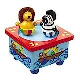 Orange Tree Toys Music Box Noah's Ark