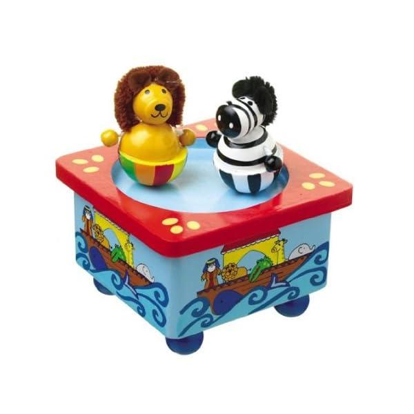 Orange Tree Toys Music Box Noahs Ark