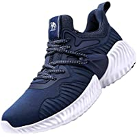 CAMEL CROWN Men's Trail Running Shoes Fashion Mesh Lightweight Breathable Tennis Walking Workout Athletic Casual Cushion Sneakers for Men