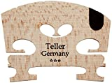 Aubert 9145-44 Teller Germany U Insert Semi Fitted Violin Bridge