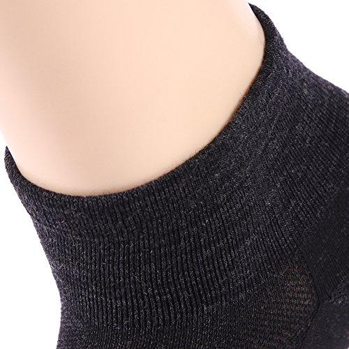 Performance Socks,ZEALWOOD Men's Running Socks for Men and Women Organic Merino Wool Anti-blister Compression Arch Socks Men Best Christmas Gifts by ZEALWOOD (Image #9)