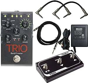 digitech trio electric guitar multi effect band creator pedal plus free fs3x pedal. Black Bedroom Furniture Sets. Home Design Ideas