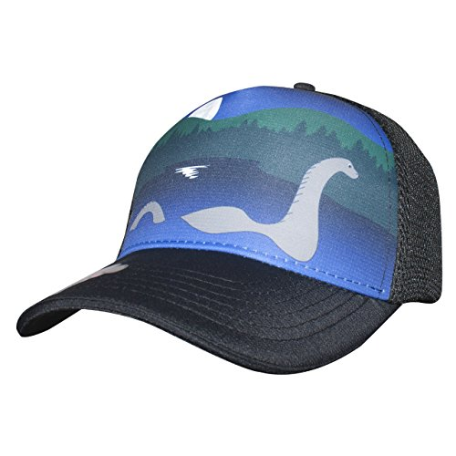 - Headsweats Nessie 5 Panel Trucker Hat, Black, One Size