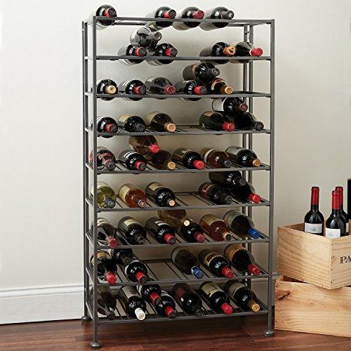 (Folding Metal Wine Rack)