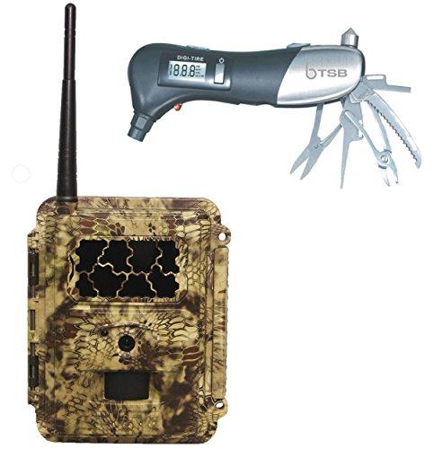 (Spartan HD GoCam at&T 4G/LTE & TSB Manufactured Muti-Tool (Blackout Flash))